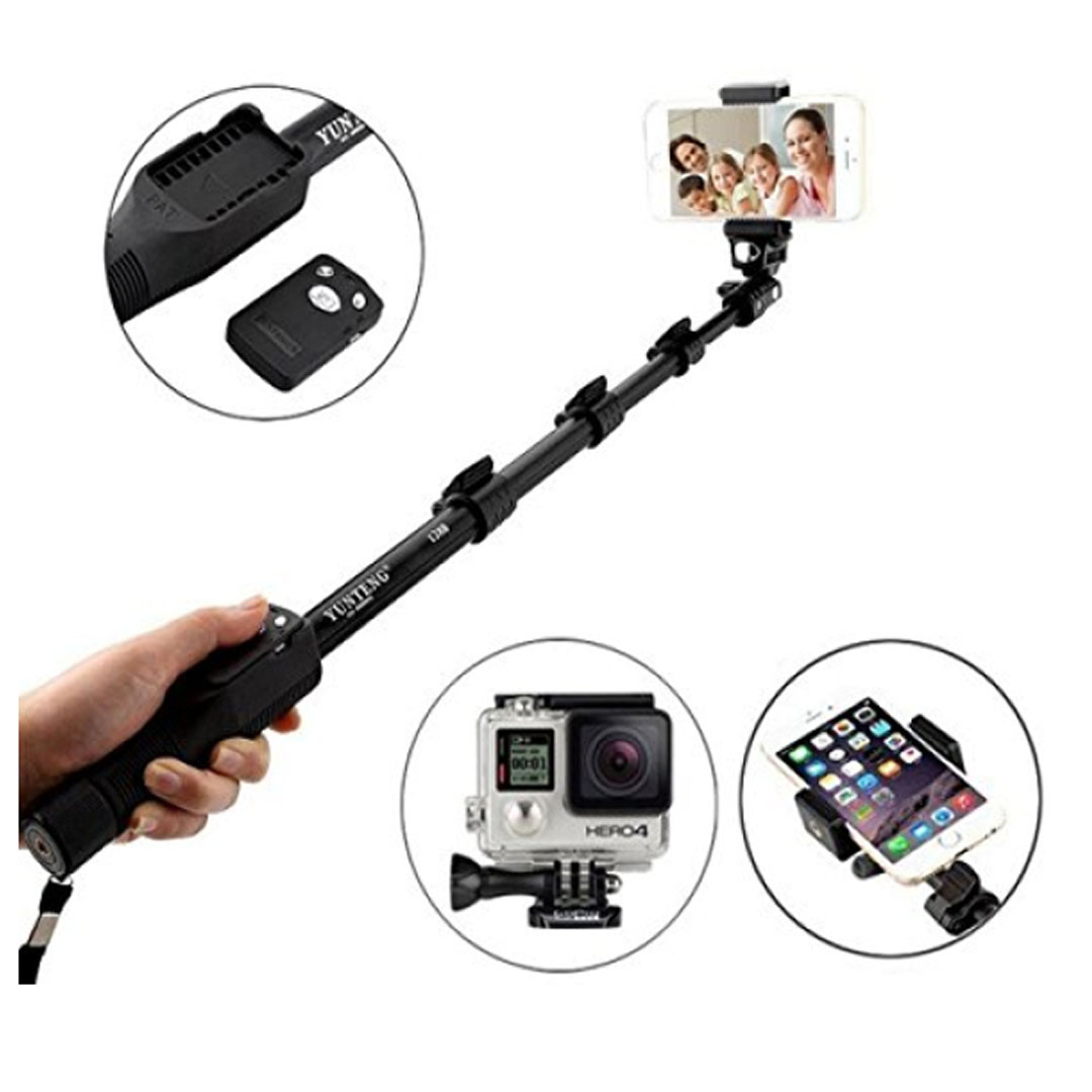 professional selfie stick yunteng yt 1288 your pakistan online shop. Black Bedroom Furniture Sets. Home Design Ideas